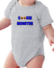 Infant Creeper Bodysuit T-shirt Cookie Monster