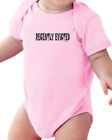 Infant creeper bodysuit Recently Evicted