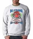 Gildan Long Sleeve T-shirt Christian Be Strong Courage Cause Lord Says So