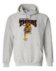 Gildan Hooded Hoodie Pullover Sweatshirt School Team Mascot Tigers Don't Mess Wi