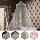 Elegant Round Lace Insect Bed Canopy Netting Curtain Dome Mosquito Net Home T99 image