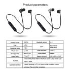 Wireless Bluetooth Headphones Sport Stereo Bass Music Earpieces with Mic Sports