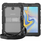 For Samsung Galaxy Tab A 8.0 T387 T387V 2018 Shockproof Hybrid Tough Case Cover