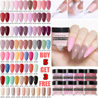 NICOLE DIARY Nail Art Dipping Powder Glitter Holographic Chameleon Acrylic Tips