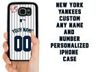 NEW YORK YANKEES CUSTOM CASE FOR SAMSUNG GALAXY NOTE S 3 4 5G 6 7 8 9 10E PLUS