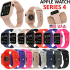 Shockproof Sports Silicone iWatch Band Strap&Case Cover fr Apple Watch 4 3 2 1 image
