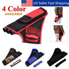 3 Tube Hip Back Adjustable Waist Belt Bow Quiver Archery Arrows Holder Bag Case