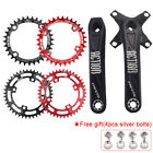 32-52T 104bcd 170mm Single Speed Crankset MTB BMX Bike Crank set Chainring Bolt