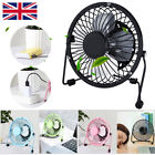 USB Fans Mini Portable Desktop Cooling Desk Quiet Fan Computers Laptops PC Fans