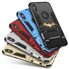 Shockproof Hybrid Armor Batman Kickstand Case For LG Stylo 3 4 5 G5 G6 K8 K10