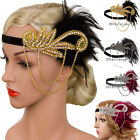 20s Headpiece Vintage 1920s Headband Flapper Great Gatsby Party Hair Accessories