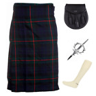 4 Piece Kilt Package with Pin Hose and Sporran - Sizes 30-44 - Gunn Modern