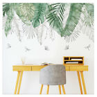 Summer Tropical Green Plants Leaves Wall Sticker Vinyl Decals Home Decorations