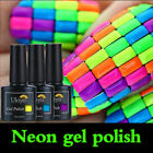 Ukiyo 10ml Neon Summer Bright Gel Polish No Wipe Top Base Coat Manicure Lacquer $2.59 USD on eBay