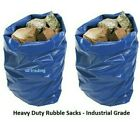 Blue Heavy Duty Strong Garden Building Waste Orion Rubble Sacks 500 Gauge 20x30