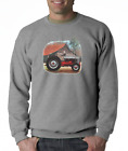 Gildan Long Sleeve T-shirt Country Farm Farmer Tractor Antique Barn