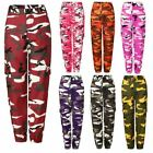 1 Pc Women Cargo High Waist Hip Hop Trousers Pants Military Army Combat Camoufla