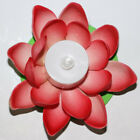 LED Wishing Light Floating Lotus Flower Lamps Color RGB For Festival Activity
