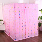 Adult Kids Pink Four Corner Post Bed Light Shading Curtain Canopy Mosquito Net image