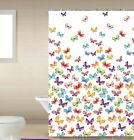 "1PC PRINTED BATHROOM BATH SHOWER CURTAIN WITH HOOKS NEW DESIGNS 72""X72"""