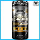 MUSCLETECH PLATINUM L-CARNITINE 60 CAPSULES WEIGHT LOSS SUPPORT FAT BURNER