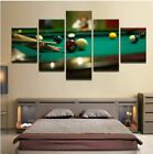 Snookers Billiards Ball Sport 5 Pcs Canvas Home Decor Wall Poster Picture $70.5 USD on eBay