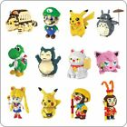 Super Mario Luigi Totoro SpongeBob Pikachu Zootopia Yoshi Kitty Sailor Moon DIY