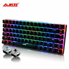 Au Ajazz Ak33 Wired Mechanical Keyboard 82 Keys Game Keyboard Rgb Led Backlight