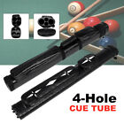 2x2 1/2 Leather Billiard Stick Pool Barrel Hard Cue Tube Case Black with Handle $42.57 USD on eBay