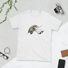 Duck Billed Platypus with Moustache Short-Sleeve Unisex T-Shirt