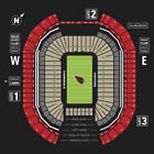 Seattle Seahawks vs Arizona Cardinals--9/29/19--1:05pm--2 Front Row Aisle Seats