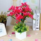 Artificial Flower Potted Plant Simulation Fake Silk Flower Floral Props Decor