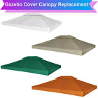 2 Tier Gazebo Cover Replacement Canopy Top 3 x 4 m Water Resistant UV Proof Roof