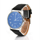 2019 Men's Wrist Watch Luxury Classic Faux Leather Strap Quartz Analog Business