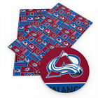 Colorado Avalanche Faux Leather Sheet $3.0 USD on eBay