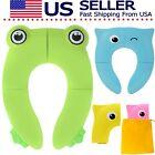 Potty Seat Training, Toddler Kids Children, Portable Travel Trip, Fold Reusable  image