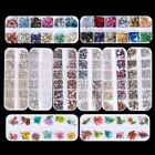 Various 3D Nail Art Rhinestones Diamonds Gems Jewelry Rivet Mixed coration