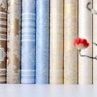 3D Non-woven Fabric Flower Stripe Pattern Wall Paper Home Wall Bedroom Decor