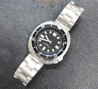 Mens Vintage Sterile Dive 20ATM Automatic Watch Japan NH35A Coating glass Turtle image