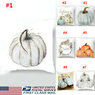 US NEW Halloween Style Pumpkin Pillow Case Throw Cushion Cover Sofa Home Decor image