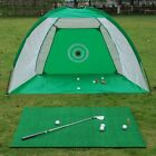 Foldable Golf Practice Net Swing Trainer Chipping Net Golf Hitting Cage Training