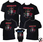 Mexican Themed Shirt Taco Birthday Matching T-shirts Party Family Spanish Mexico