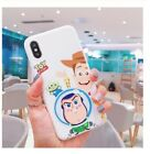 Toy Story Woody Buzz Jessie Silicone Phone Case iPhone XS Max XR X 8 7 6 Plus