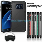 Dual Layer Shockproof Hard Bumper Cover Case For Samsung Galaxy S7/ S7 Edge US