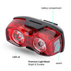 Внешний вид - 2LED Bright Cycling Bicycle Bike Safe Rear Tail Flashing Back Light Warning Lamp