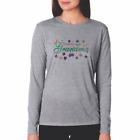 Gildan Long Sleeve T-shirt  I Love Being a Grandma Grandmother