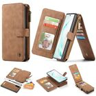 Caseme 007 Leather Removable Zipper Wallet Case Cover For Samsung Galaxy note10 $19.29 USD on eBay