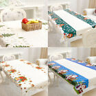 Wipe Clean PVC Vinyl Tablecloth Dining Kitchen Table Cover Protector 110x180cm H