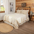 Grace Country Farmhouse Quilt Creme and Gray Bedding Collection - VHC - Queen image