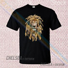 New Lion Of Judah Headphones Nightclub DJ Festival Reggae Rasta t-shirt 18dk1